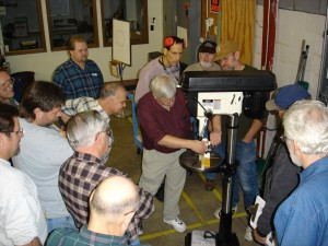 Evaluating tools at Eagle America's Shop