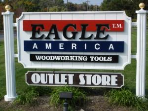 Eagle America's Sign