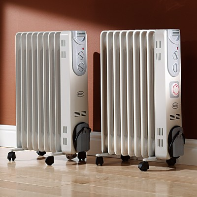 Oiled Filled electric space heaters