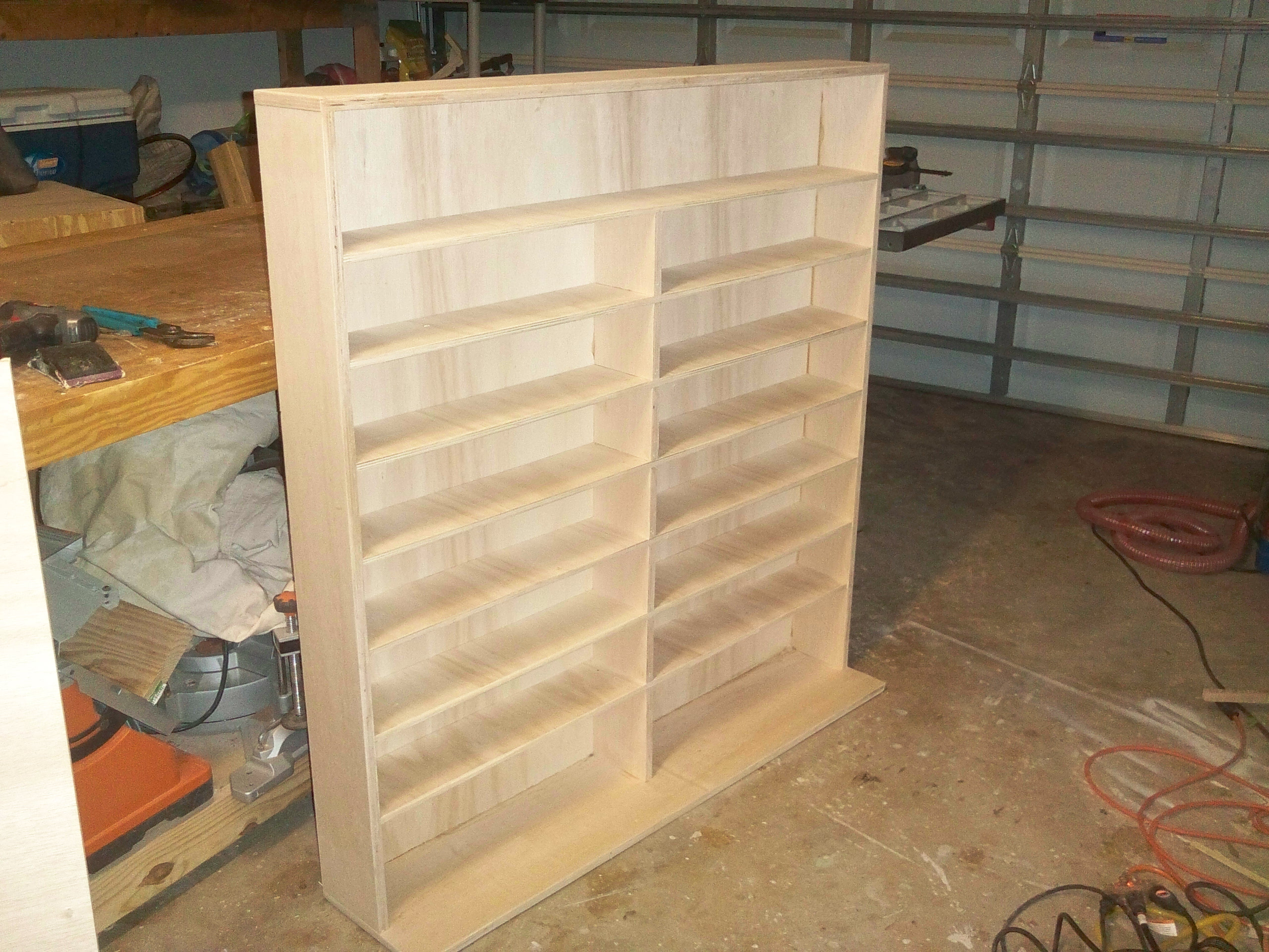 Woodwork dvd shelving plans pdf plans for Wood craft shelves