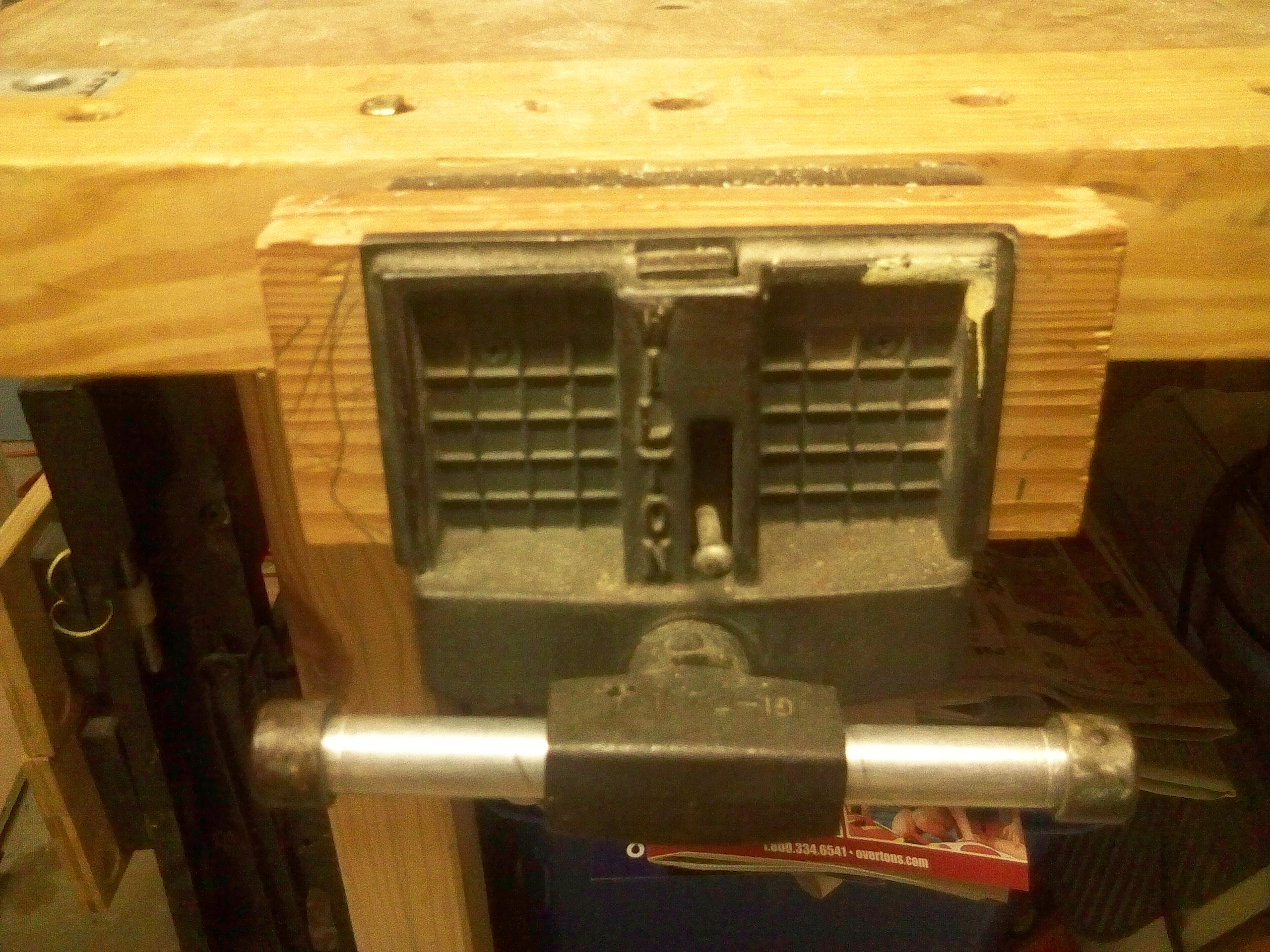Excellent Wilton Model W 9 63 Woodworking Vise 7quot Jaw And 42