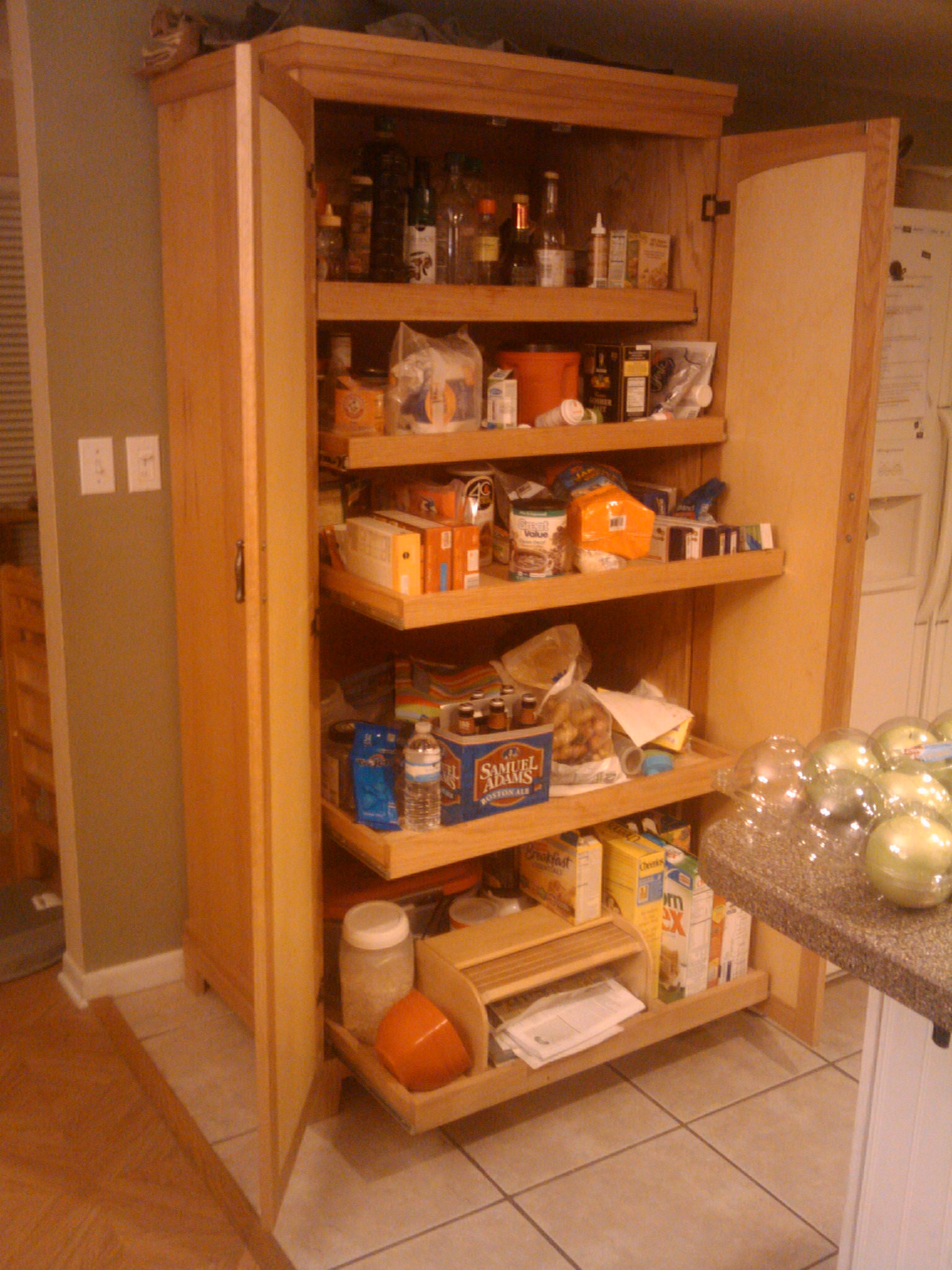 Stuff Ive Built The Kitchen Pantry Toms Workbench