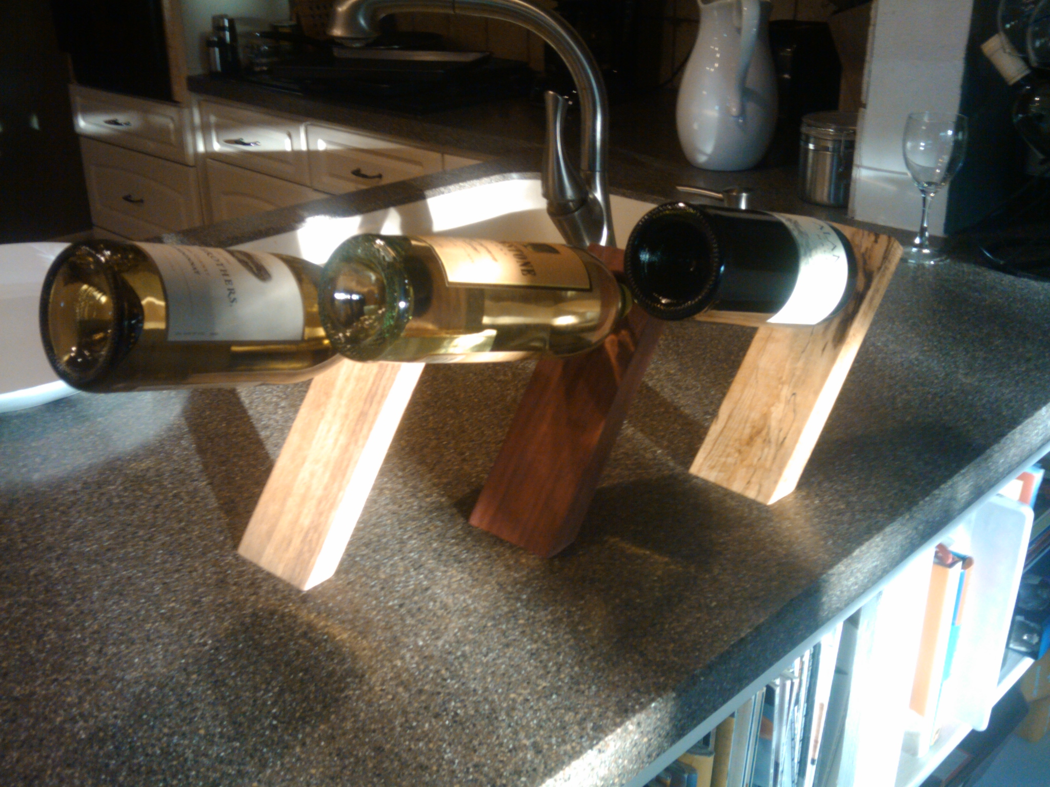 Wine Bottle Storage Angle Stuff Ive Built The Wine Bottle Balancers Toms Workbench