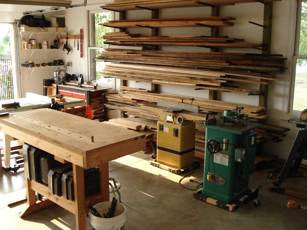 Model Garage Into His Shop Tour Includes A Blueprint Of The Shop39s