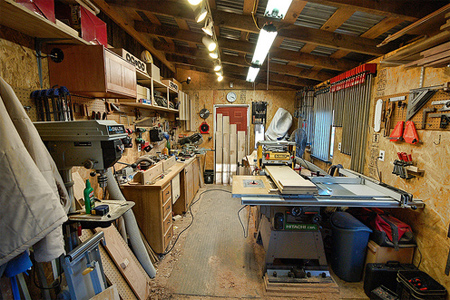 Wood Shop Organization Plans