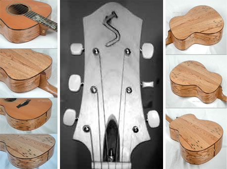 Guitars Made From Pallet Wood