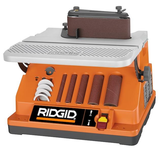 The Ridgid sander