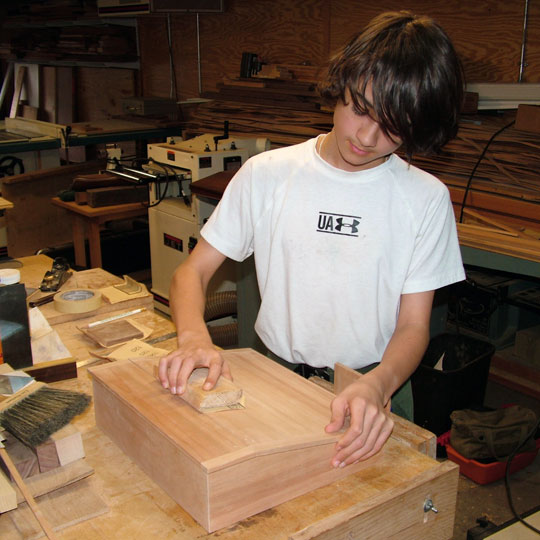New woodworkers sometimes need a little guidance