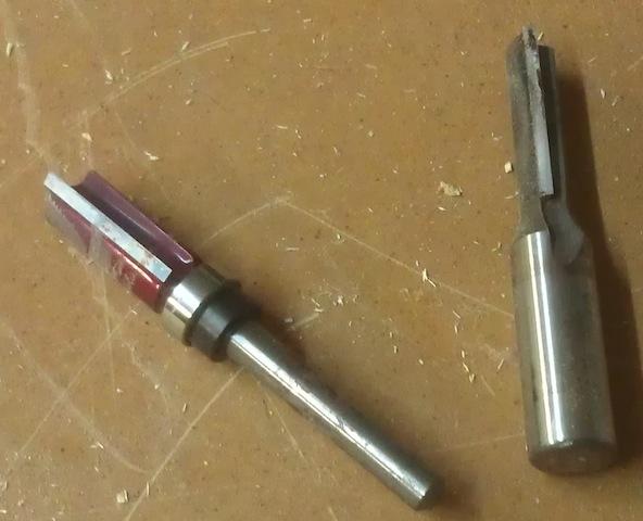 Quarter inch vs. Half inch bits