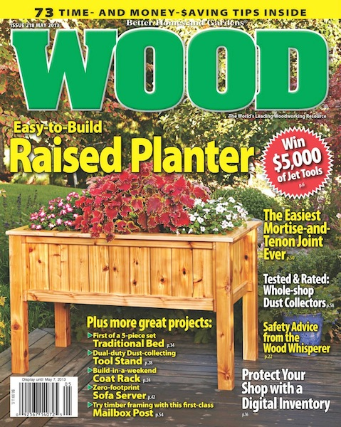 May 2013 Wood Magazine