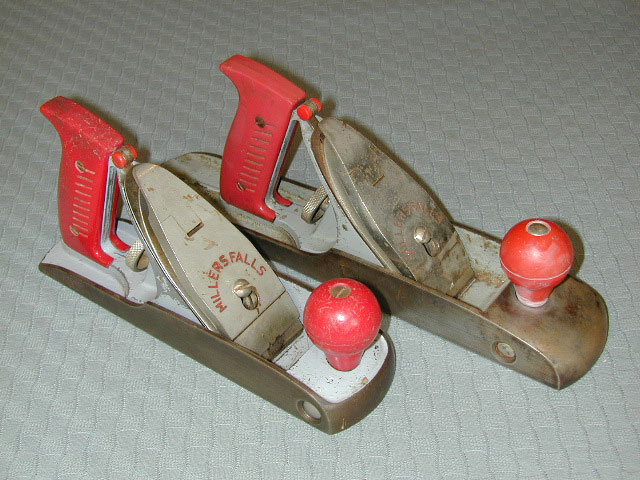 Milers falls made a distinctive looking set of tools called the Buck Rogers