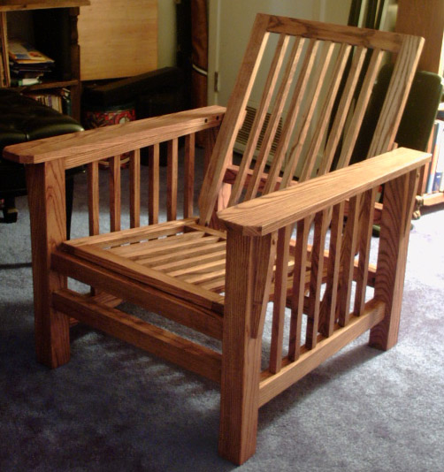 A beautiful Morris Chair Dan built