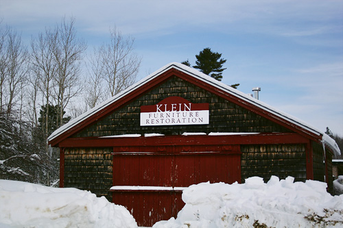 Joshua Klein's Maine workshop