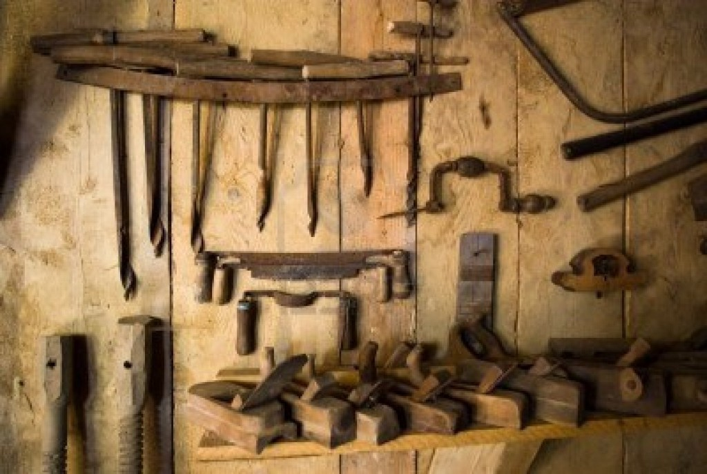 Old woodworking tools are sweet!