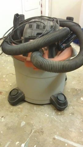 My shop vacuum