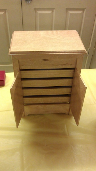 A beautiful jewlery chest - your second place winner