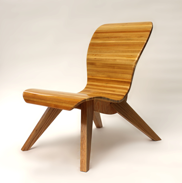 A modern looking easy chair