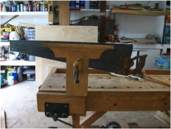 Andy's saw vise