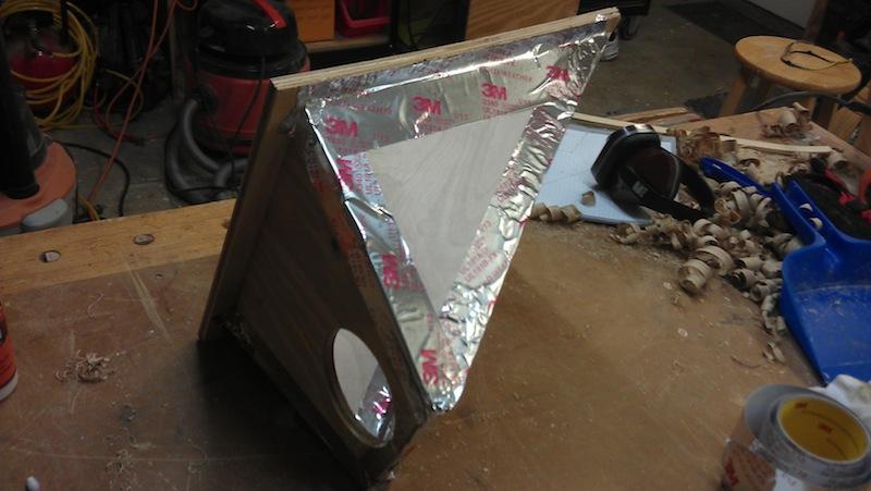 Foil tape seals it up