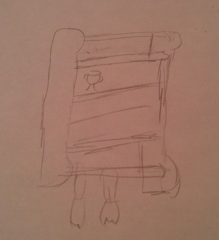 a rough sketch of the case