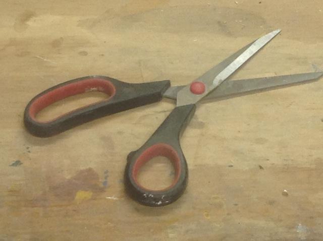 My shop scissors
