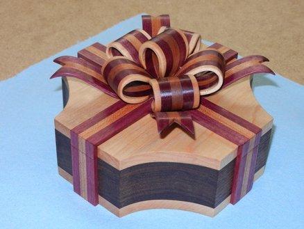 A gorgeous ribbon box