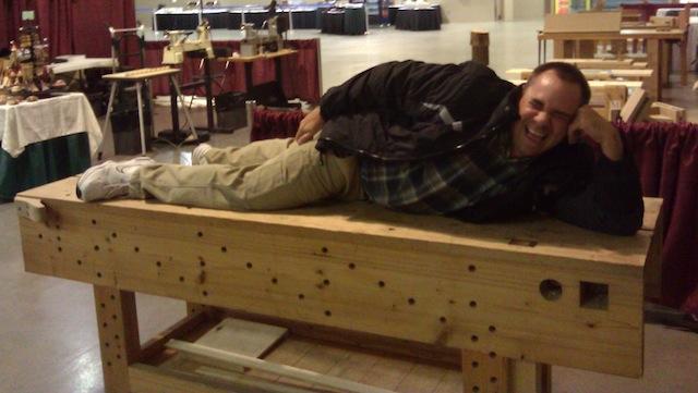 Mike Siemsen's bench