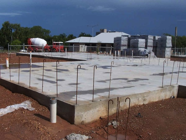 A strong Slab foundation