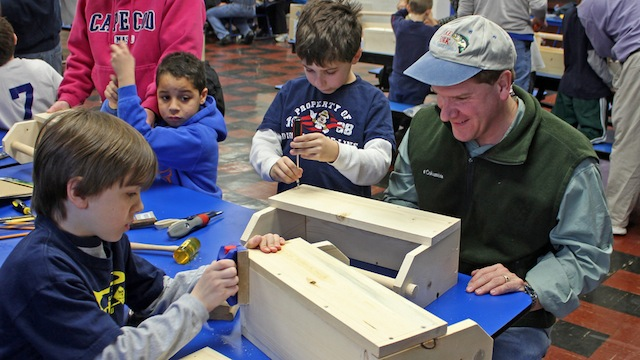 Kids LOVE woodworking