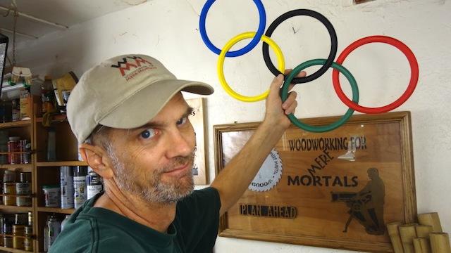 Steve Ramsey's Olympic Rings