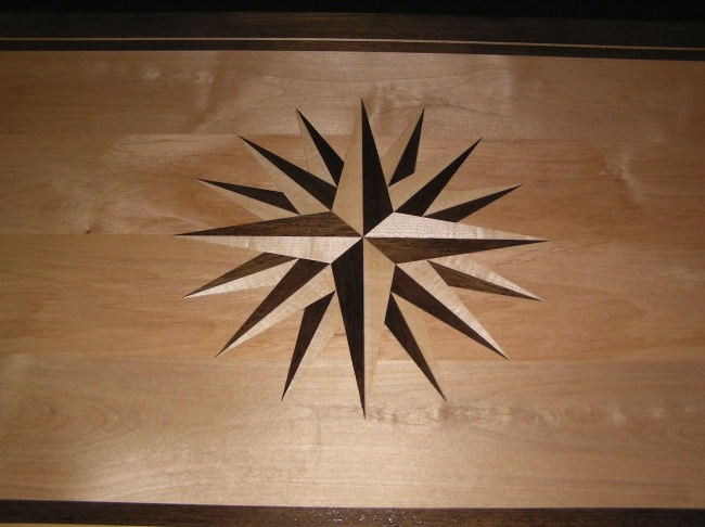 A gorgeous inlay done by Marc Spagnuolo