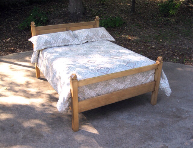 Jeff Branch's bed