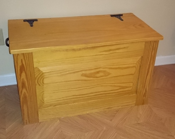 Charmant A Pine Chest I Built