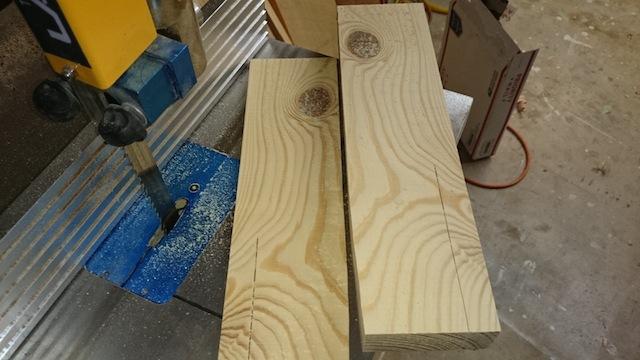 The pine cut