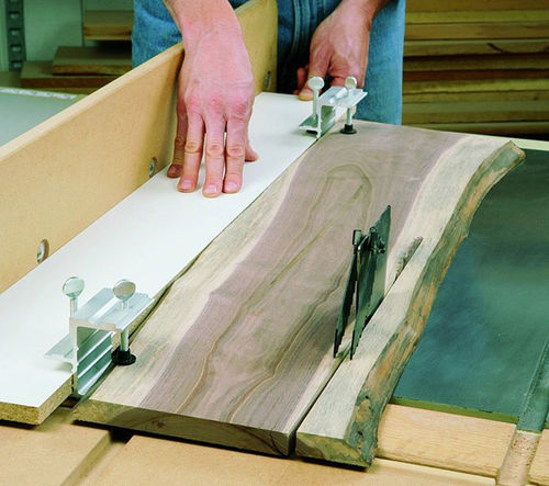 Jointing using a table saw