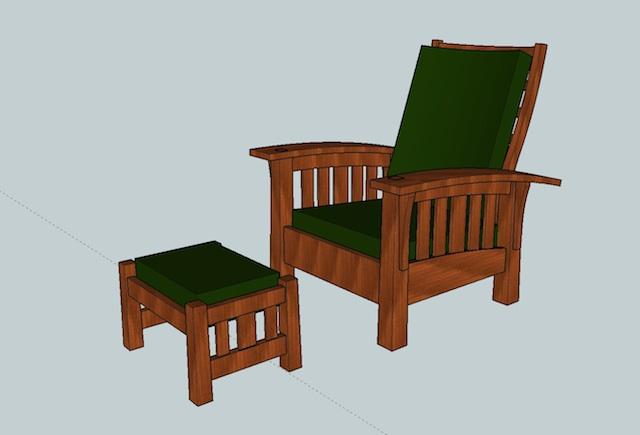 TWW Guild's morris chair