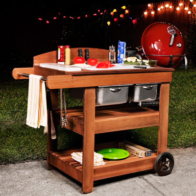 Plans For A Grill Cart