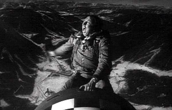 Slim Pickens rides the bomb