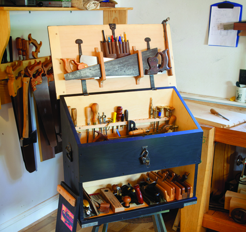 Chris Schwarz's original Dutch tool chest