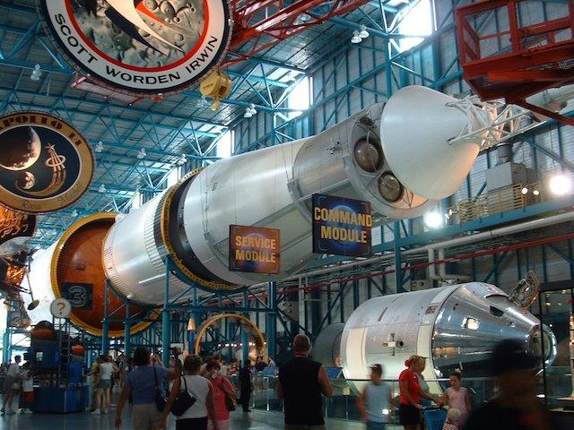 Saturn V/Apollo Rocket at KSC
