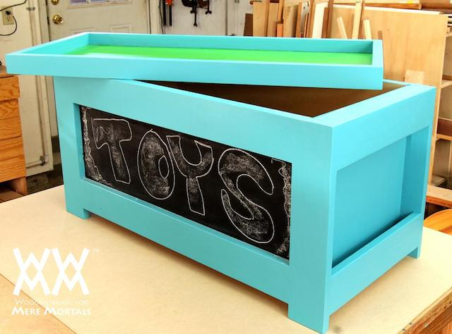Steve Ramsey's toy box