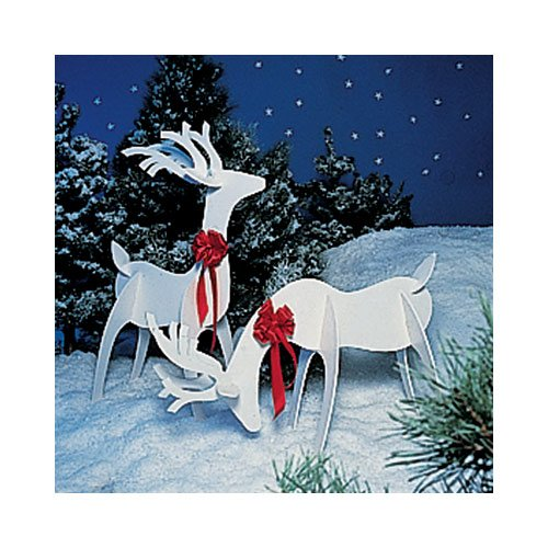 Wooden Reindeer Yard Decoration Plans