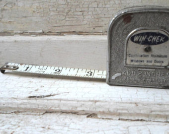A classic tape measure
