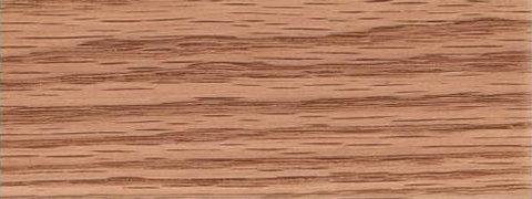 Pronounced grain of red oak