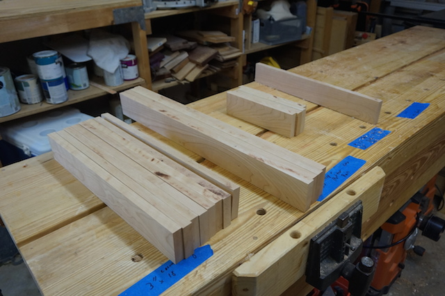 Planed boards