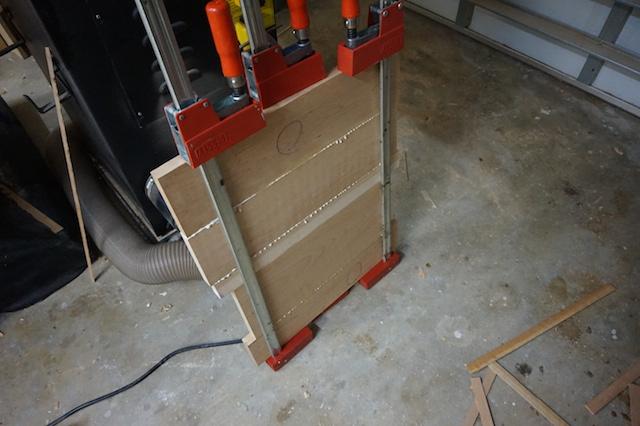 glued panel