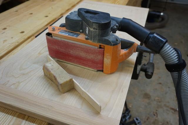 The crepe rubber block