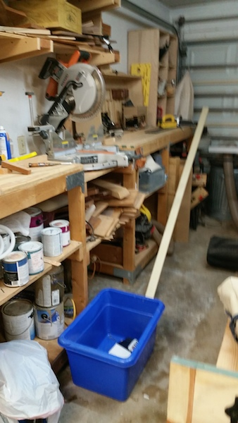 The miter mess