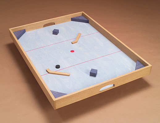 The table hockey game