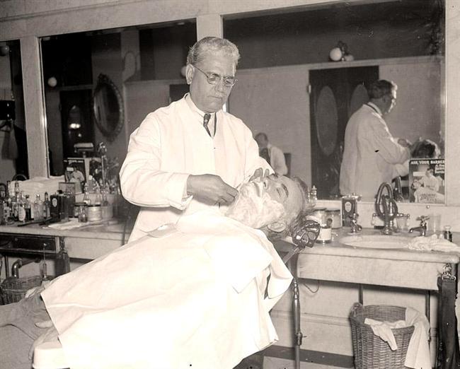 A vintage shave